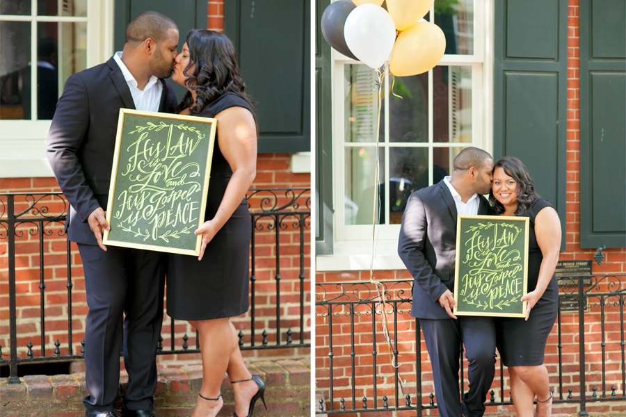 These Old Town Alexandria Engagement Photos Are All Of Our