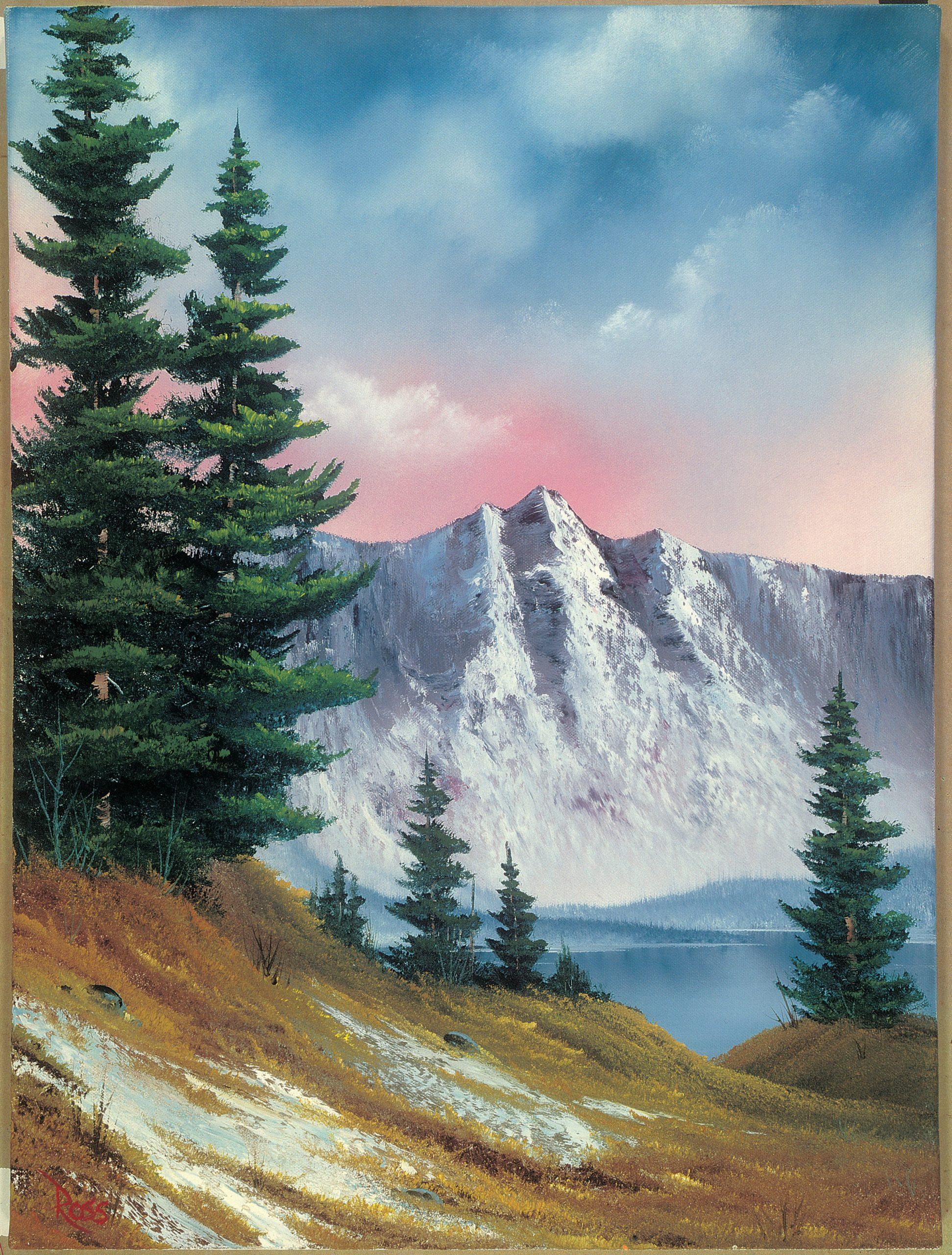 Can You Buy A Bob Ross Painting : painting, Exhibit, September, Washingtonian