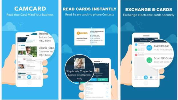 The business card scanning app Camcard is reported to have been one of the products affected