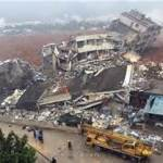 22 buildings collapse in China landslide (www.business.com)