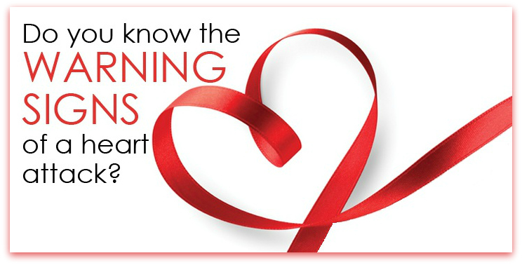 Heart Attack and the warning signs (image - highlandsmedicalcenter.net)