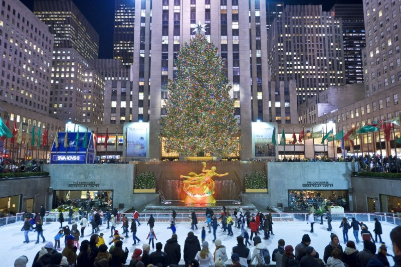 History of Christmas trees (www.partir-a-new-york.com))
