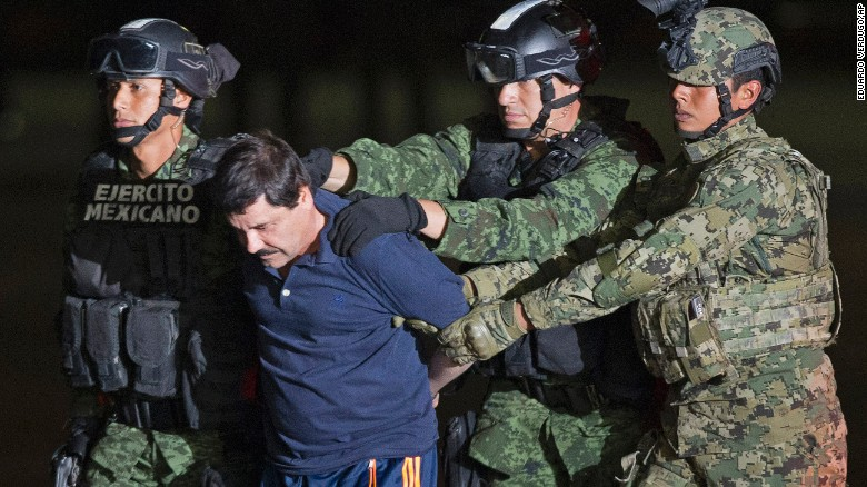 Drug kingpin 'El Chapo' reportedly recaptured