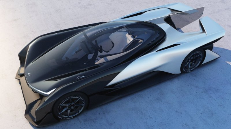 Faraday Future reveals its new electric-car concept FFZERO1 1