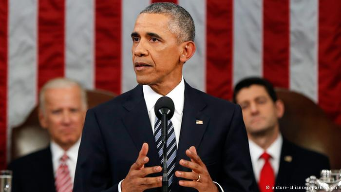 In State of the Union address, Obama asks leaders to 'fix our politics' (www.dw.com)