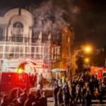 Iranians attack Saudi embassy