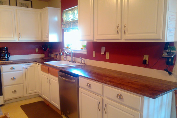 Your kitchen countertop doesn't have to look so sad - Here are 6 DIY solutions 8