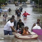 Houston copes with historic flooding