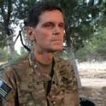 A US general visit Kurds in Syria