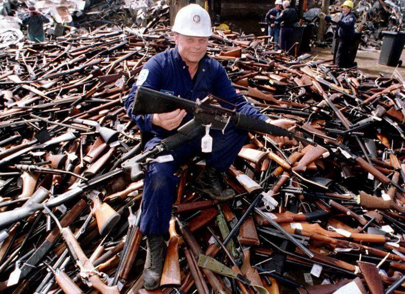 International studies show gun control actually works Australia