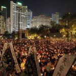 Memory of Tiananmen massacre