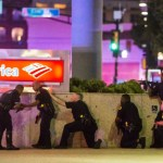 Snipers kill 5 police officers in Dallas (photo cnn)