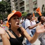 Protests against unpopular leader in Venezuela
