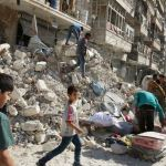 Russian halted airstrikes on Aleppo
