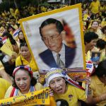 Thai stocks tumble amid King worries