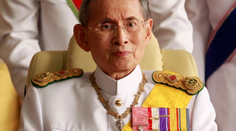 Thailand's King dies at age 88
