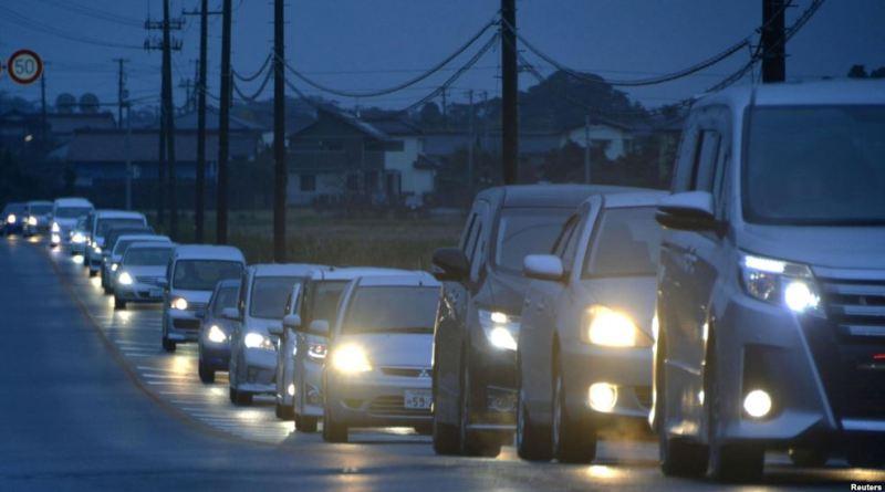 Massive earthquake strikes Japan's east coast