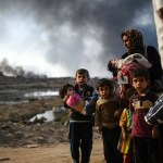 35,000 children have fled Mosul