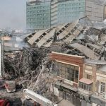Iran high-rise collapses in fire