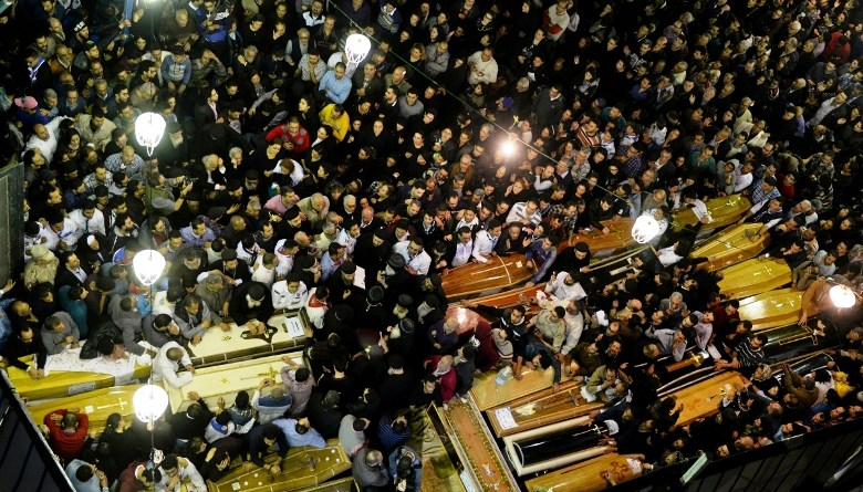 Deadly church attacks in Egypt