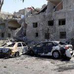 Car bomb kills at least 19 in Damascus