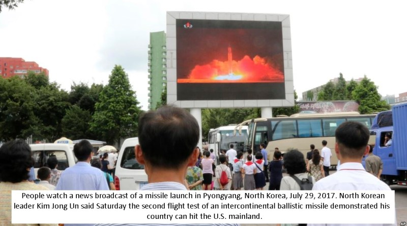 North Korea appears to launch ballistic missile