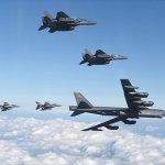 US flies bombers over Korea in show of forcev