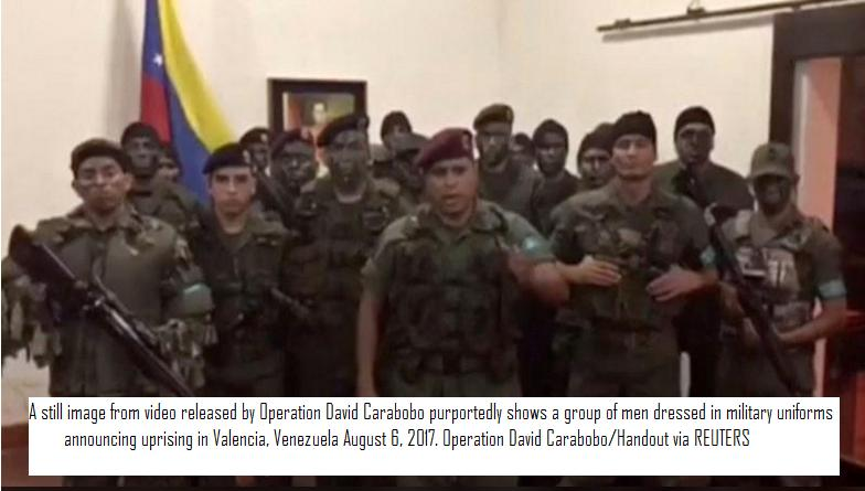 2 killed after attack on military base in Venezuela