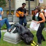Protesters pull down Confederate statue in North Carolina