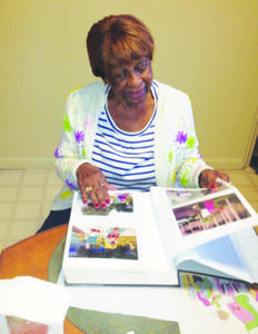 Edna McNeir Baker, who has recently moved from Williamsburg, Virginia, to Silver Spring, Maryland, and now lives with her son, continues to be challenged by neurological changes associated with the early stages of Alzheimer's. Photo by D. Kevin McNeir