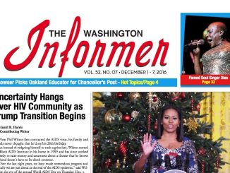Washington Informer, December 1, 2016