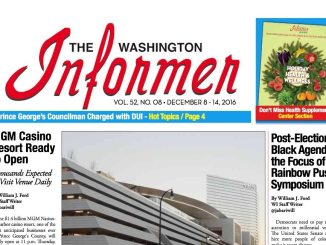 Washington Informer, December 8, 2016