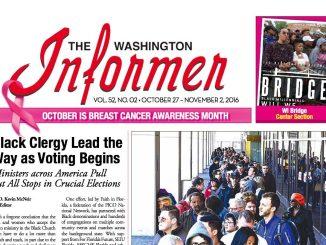 Washington Informer, October 27, 2016