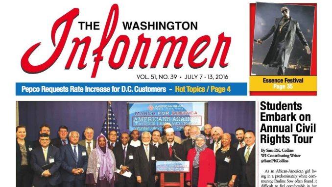 Washington Informer, July 7, 2016