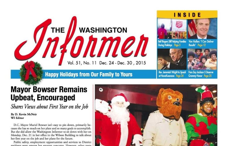 Washington Informer, December 24, 2016