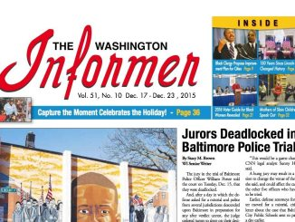 Washington Informer, December 17, 2015