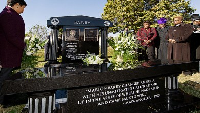 Marion Barry Gravesite Gets Permanent Marker Marion Barry Gravesite Gets Permanent Marker