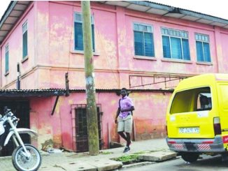 The fake U.S. embassy in Accra, Ghana /Courtesy of U.S. State Department