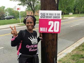 D.C. resident Kimberly Curtis said the cost of breast cancer from diagnosis through treatment can quickly erode a patient's life savings. /Courtesy photo