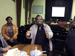 Rev. Jeffrey L. Mitchell Sr., pastor of Rock Creek Baptist Church (Hamil Harris/The Washington Informer)