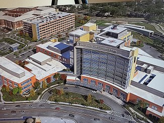 A rendering of the Prince George's Regional Medical Center slated to open in 2020 (William J. Ford/The Washington Informer)