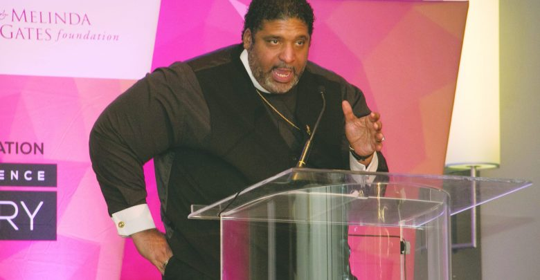 Rev. William Barber delivers the keynote address during the opening dinner of the National Newspaper Publishers Association 2017 Mid-Winter Conference in Ft. Lauderdale, Jan. 25-28, 2017.