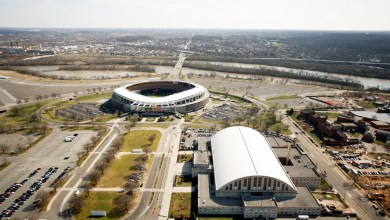 RFK Stadium in southeast D.C.