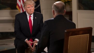 President Donald Trump speaks with Fox News's Bill O'Reilly in an interview that aired Feb. 5.