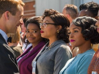"A scene from the blockbuster film ""Hidden Figures"""