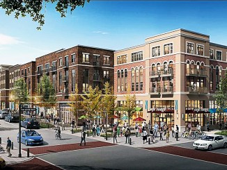 Artist rendering of Skyland Town Center in Ward 7 (Courtesy photo)