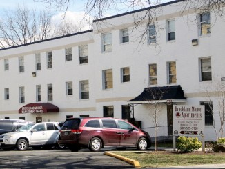 Brookland Manor faces redevelopment without support of many residents. (Shevry Lassiter/The Washington Informer)