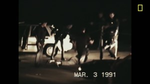 A new film by Oscar-winning directors Dan Lindsay and TJ Martin explores the 1992 Los Angeles riots in the aftermath of the Rodney King verdicts. (Courtesy of National Geographic)
