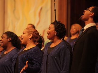 Men & Women of the Gospel Choir (Courtesy of Washington Performing Arts)