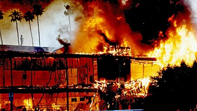 A scene from the 1992 Los Angeles riots (Courtesy photo)
